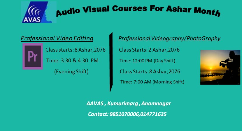 Audio Visual Course at AAVAS