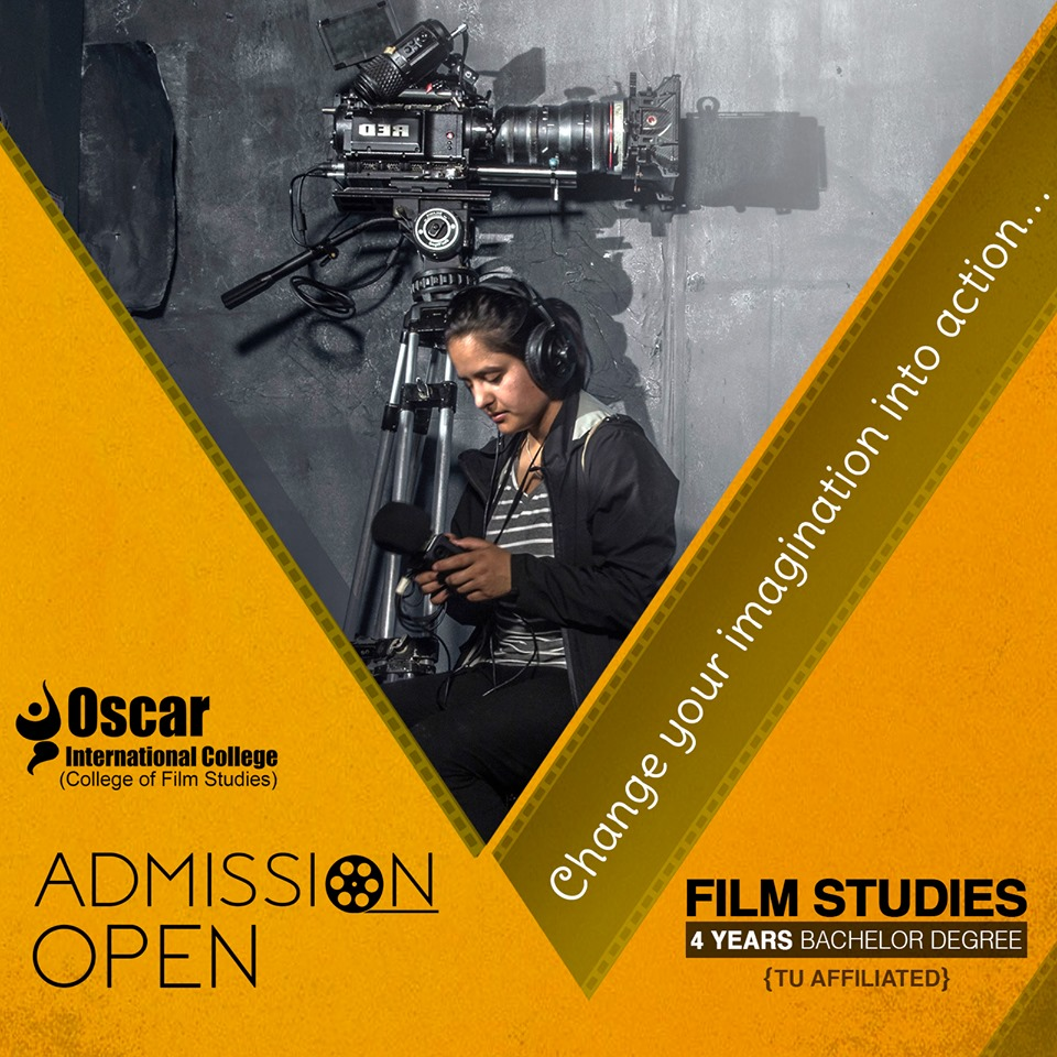 Seeking for the admission in BACHELORS IN FILM STUDIES ?