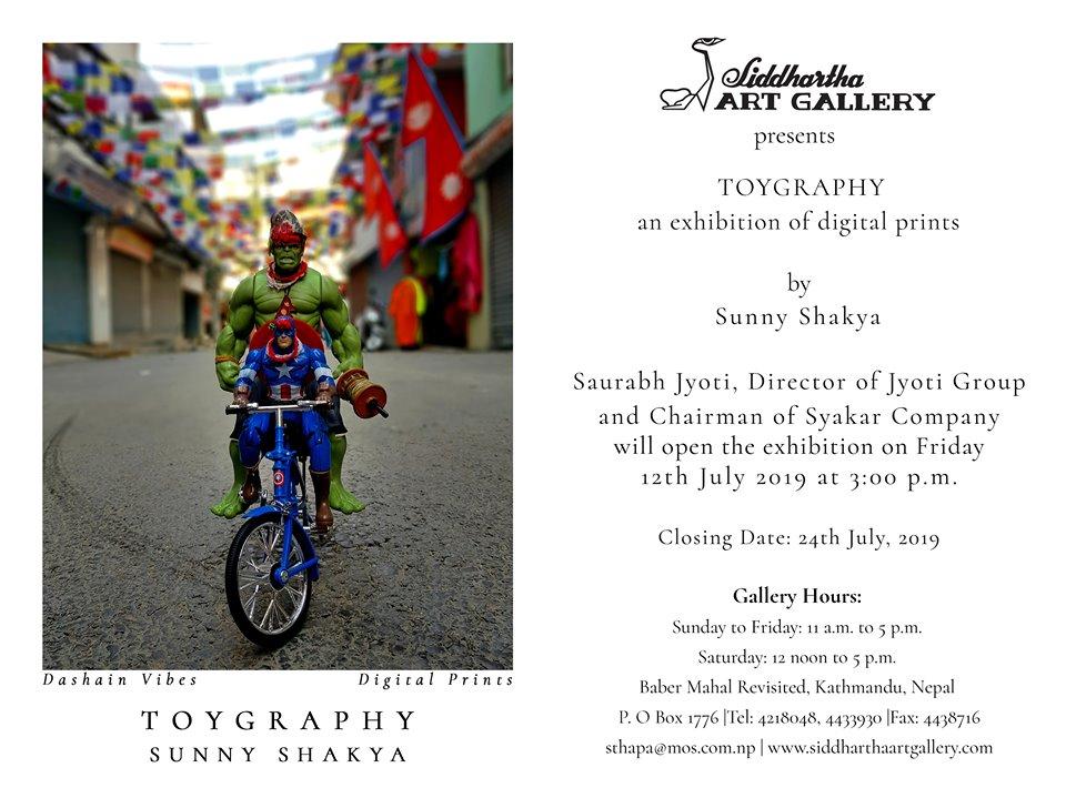 """TOYGRAPHY"" by Sunny Shakya"