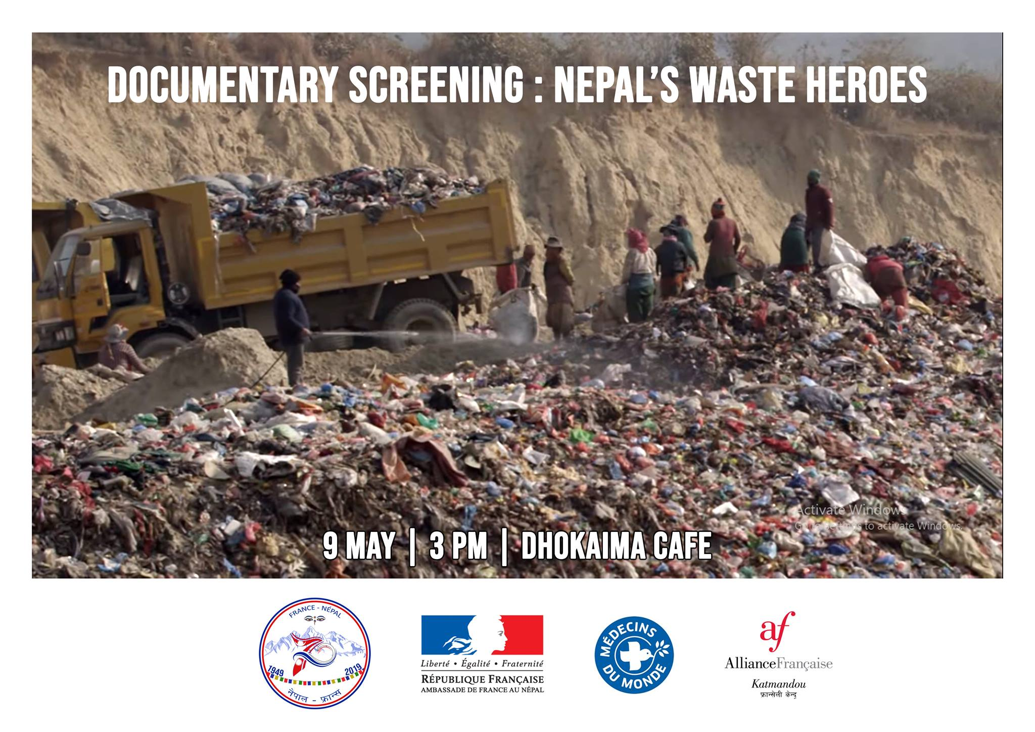 Documentary Screening – Nepal's Waste Heroes