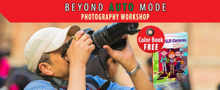 Beyond Auto Mode Photography Workshop – April 2019