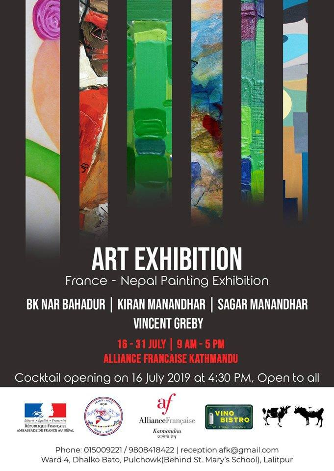 Art Exhibition France – Nepal Painting Exhibition