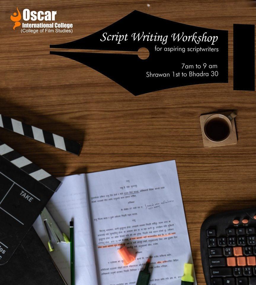Scriptwriting Workshop at Oscar International College