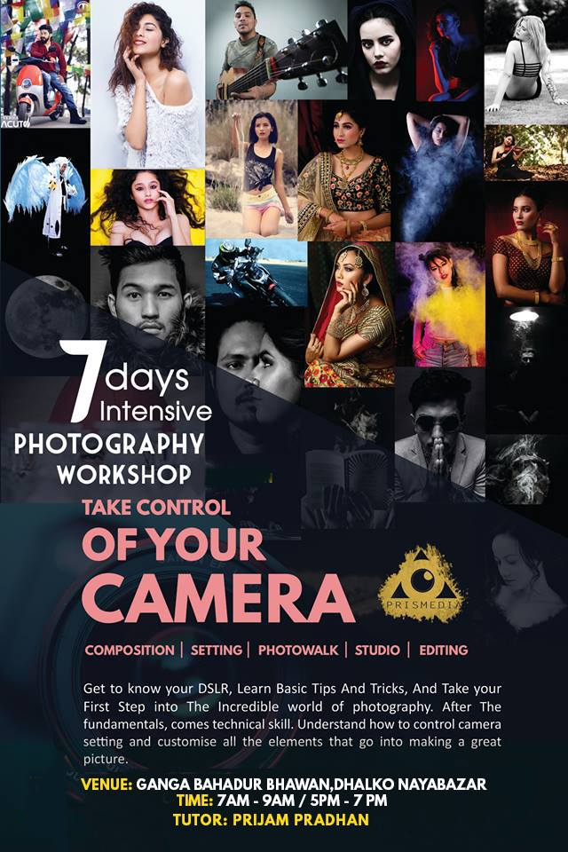 7-Days Photography for Beginners!
