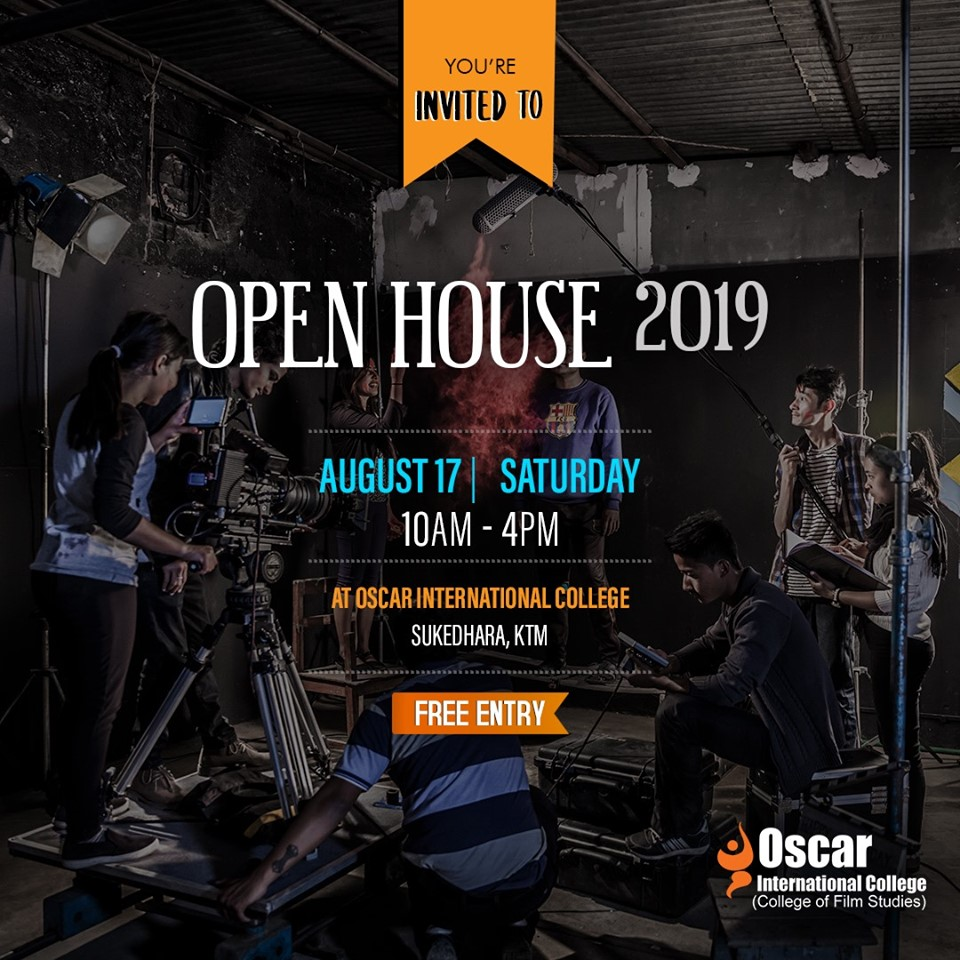 Oscar International College (College of film Studies)  OPEN HOUSE EVENT.
