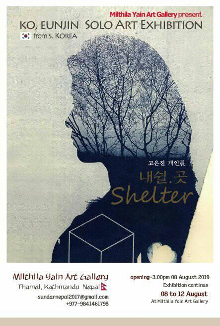 "Solo exhibition ""SHELTER"""