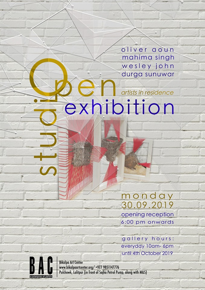 Open Studio Exhibition 'Artist in Residence'