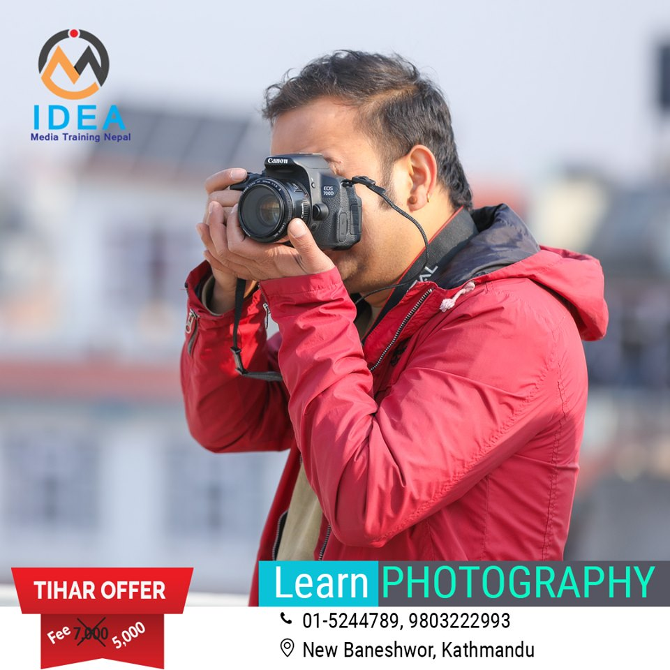Photography Training at Idea Media Training Nepal