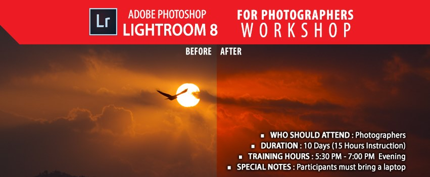 Lightroom Workshop for Photographers