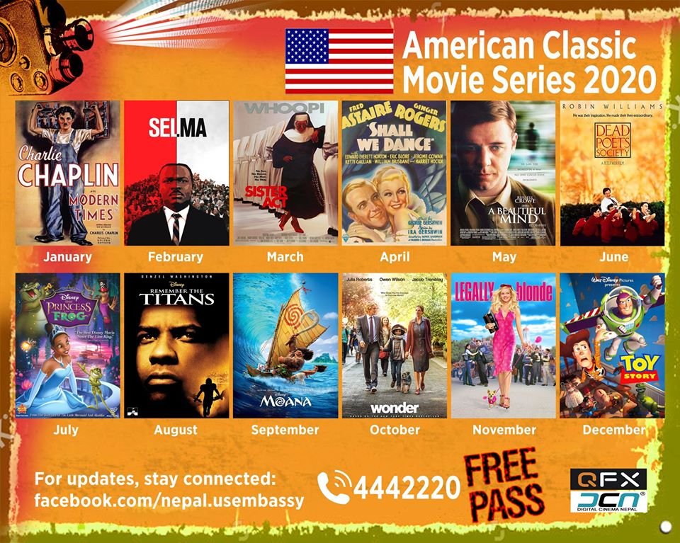 American Classic Movie Series 2020