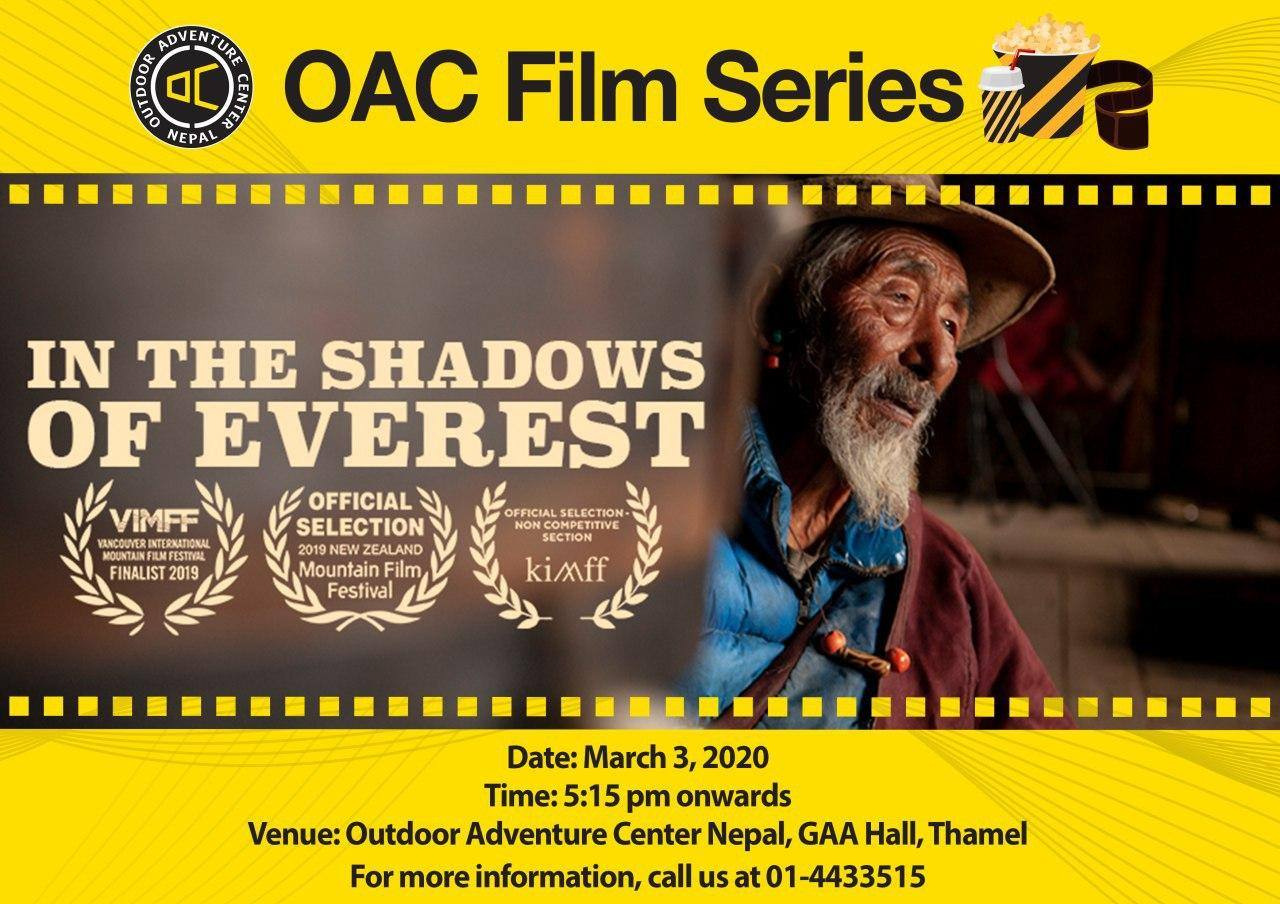 OAC Film Series: In the Shadows of Everest