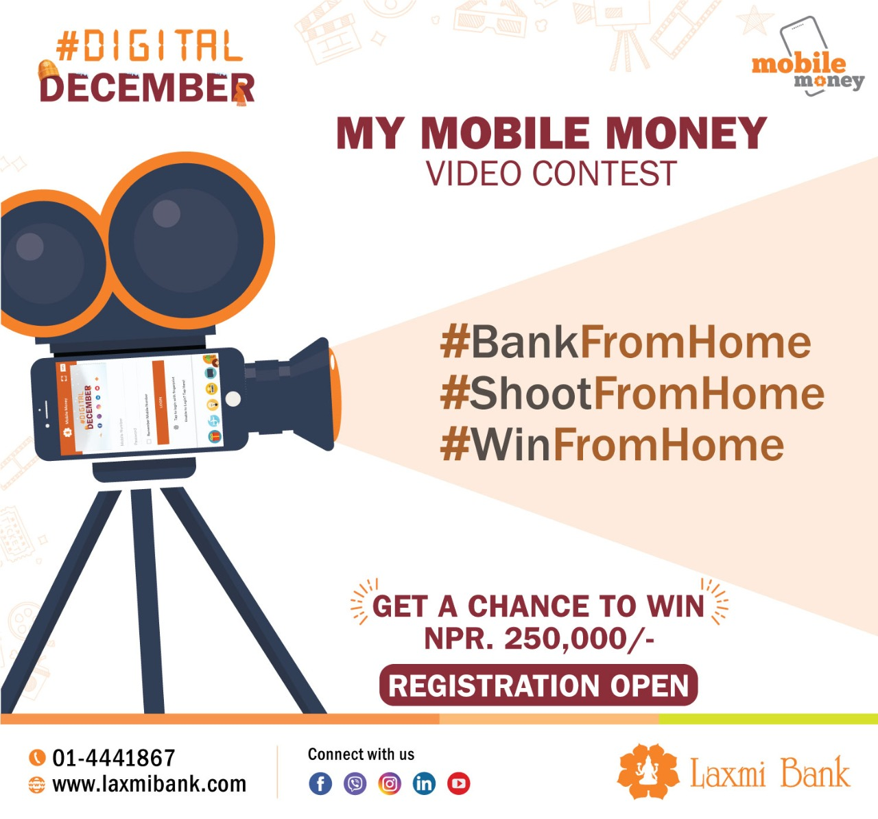 'My Mobile Money' video contest is open for registration!!!